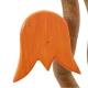 Tulpe orange, mit Aufhänger