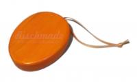 Osterei orange, klein, mit Aufhänger