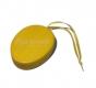 Osterei gelb, klein, mit Aufhänger