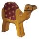 Kamel stehend, rote Decke