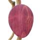 Osterei lila, groß, mit Aufhänger